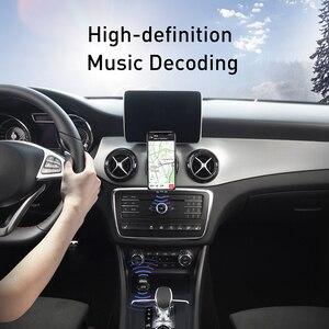 Image 5 - Baseus szybka podwójna ładowarka samochodowa USB do iphonea zestaw samochodowy Bluetooth z nadajnikiem FM odtwarzacz MP3 ładowarka do telefonu Samsung Xiaomi