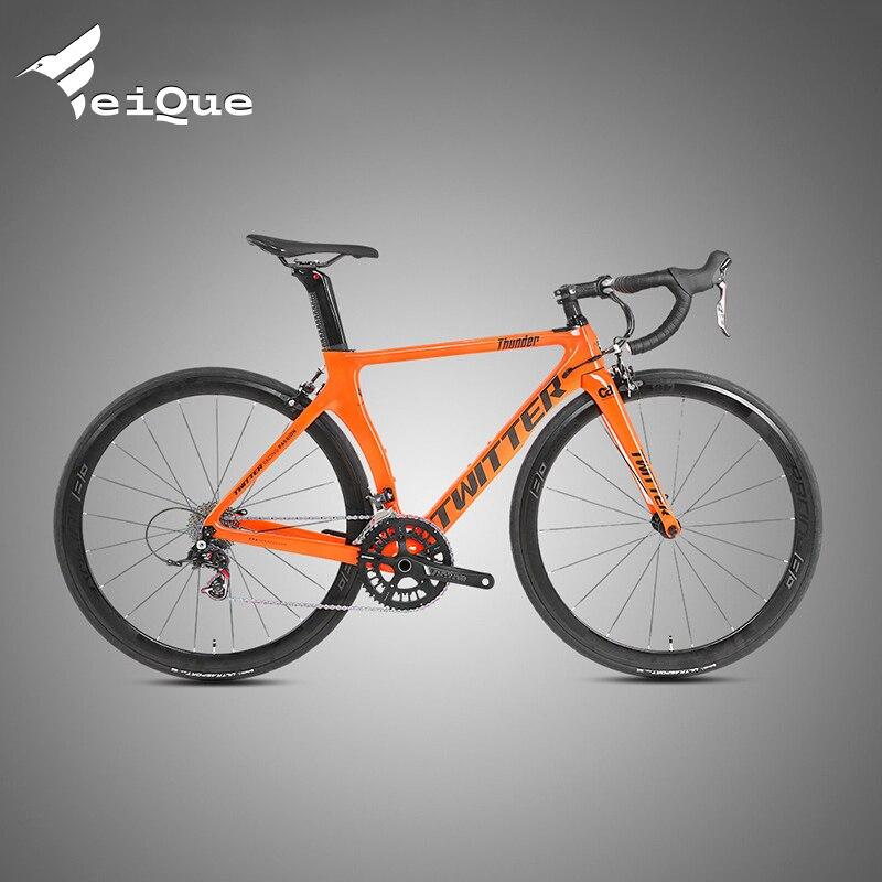 Велосипед дорожный Hayt Reming Thunder из углеродного волокна с перерывом и переключением скорости, 700C, 22 скорости