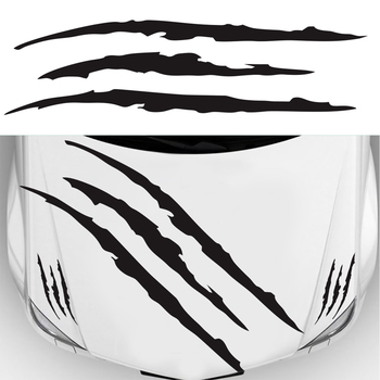 Claw Marks Decal Reflective Sticker  2