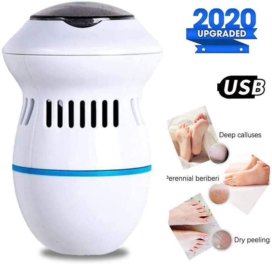 Portable Electric Feet Callus Removers Rechargeable Foot File Pedicure Tools for Dead Hard Cracked Dry Skin