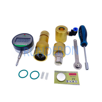 Diesel Service Workshop Common Rail Injector Repair Disassembly Measuring Tools for Caterpillar CAT 320D 326-4700 32F61-00062 orltl original genuine and brand new diesel fuel injector 326 4700 for 320d excavator engine
