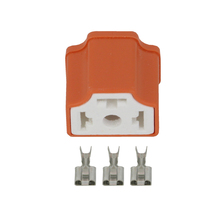 3 Pin H4 Plug-in Ceramic Connector, Right Angle 7.8 H4-2A