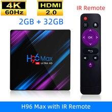 H96 MAX RK3318 Smart Android TV Box 16GB 32GB 64GB Media pla