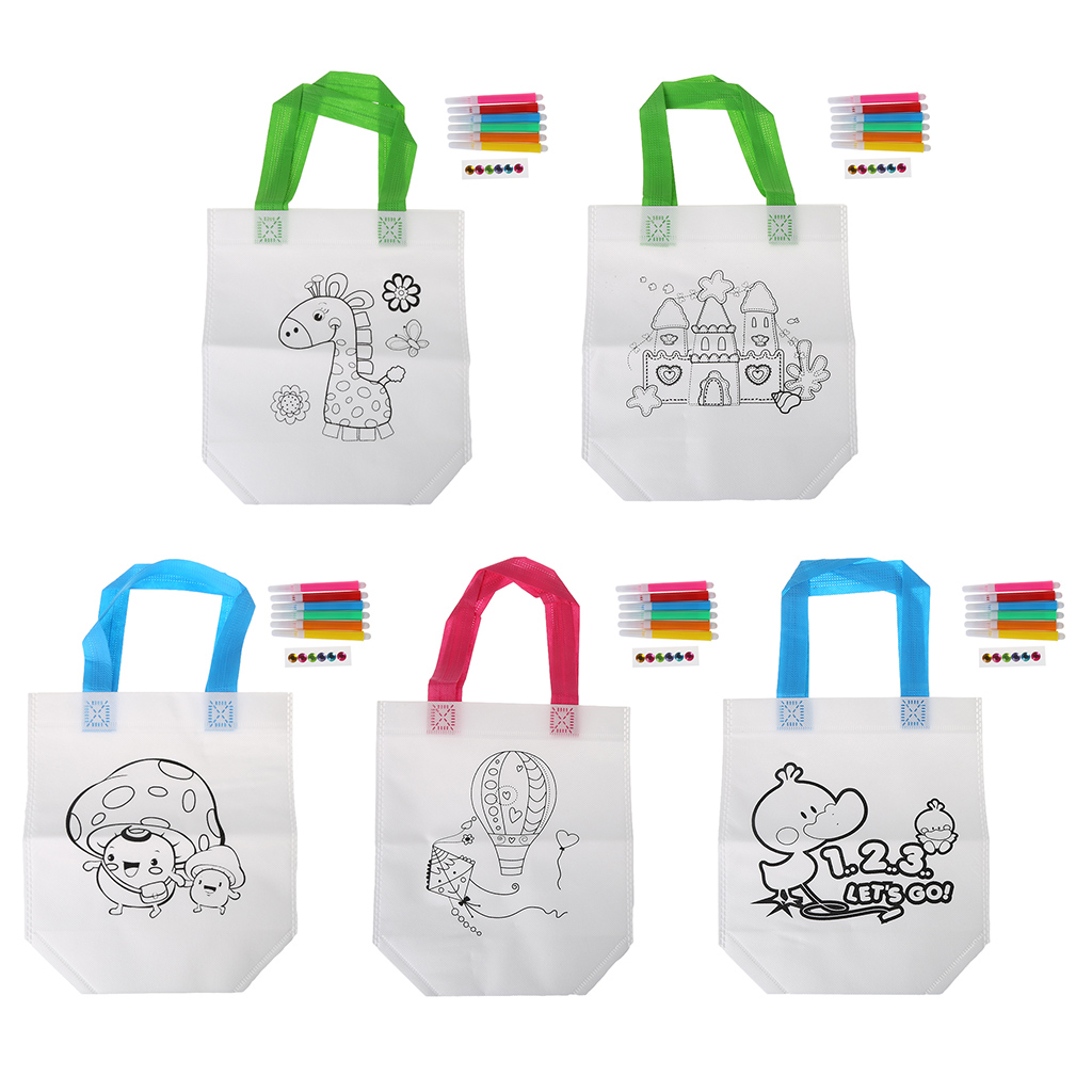 DIY Drawing Craft Color Bag Educational Drawing Toys With Safe Water Pen