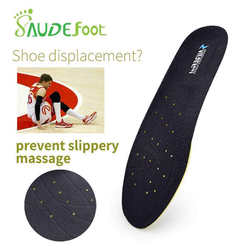 Nefes hava tabanlık yüksek elastik şok obsorbant spor yastık ayakkabı pedleri Arch destek ayak Unisex ortopedik ayakkabı tabanlık