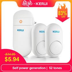 KERUI M518 само поколение беспроводной дверной звонок Главная smart электронный пульт дистанционного управления большие расстояния не