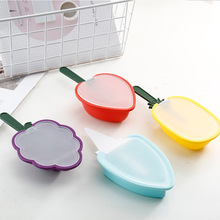 цена на Silicone Ice Cream Mould Kitchen Ice Cube Tray DIY Popsicle Fruit-shaped Moulds Dessert Maker Molds Homemade Freezer Lolly Mould