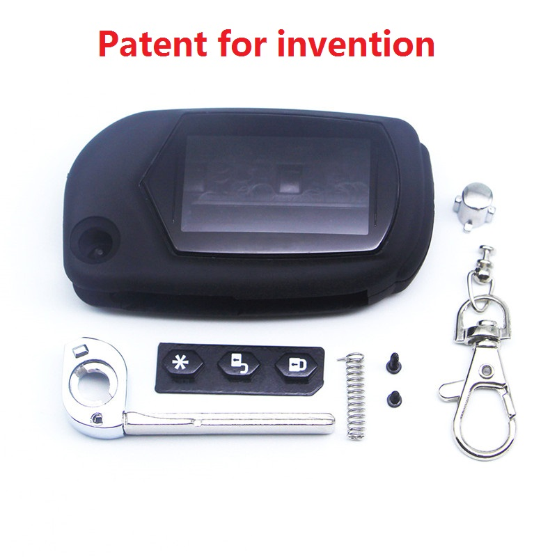A91 Key Case Keychain For Starline A91 A61 B9 B6 One-piece Keychain Case A91 Foldable Car Flip Remote Control Free Shipping