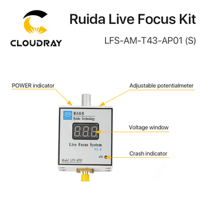 Image 5 - Cloudray LFS AM T43 AP01(S) Ruida metal cutting live focus system amplifier and amplifier connecting line for laser machine