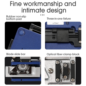 Image 5 - FC 6S FTTH Optical Fiber Cleaver metal Small High Precision Fiber cutting cable cold connection cutter tool