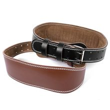 Comfortable Competitor Lever Buckles Fitness Gym Leather Weight Lifting Belt
