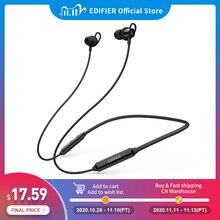 Edifier W200BT (Se) Draadloze Koptelefoon Bluetooth 5.0 IPX4 Rated Waterdichte 7hrs Van Afspelen Magnetische Functie Bluetooth Oortelefoon