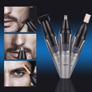 Image 3 - หูและจมูกผมRemoverสำหรับMen Shaver Beard Faceคิ้วTrimmer Grooming 3ใน1ชุด,Mensมีดโกน