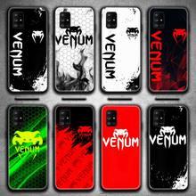 Fighting Fitness VENUM Logo Phone Case For Samsung Galaxy A21S A01 A11 A31 A81 A10 A20E A30 A40 A50 A70 A80 A71 A51 5G