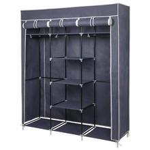 DIY Portable Storage Closet Non-woven Cloth Wardrobe Folding Dustproof Clothing Storage Cabine Closet Cabinet Bedroom Furniture