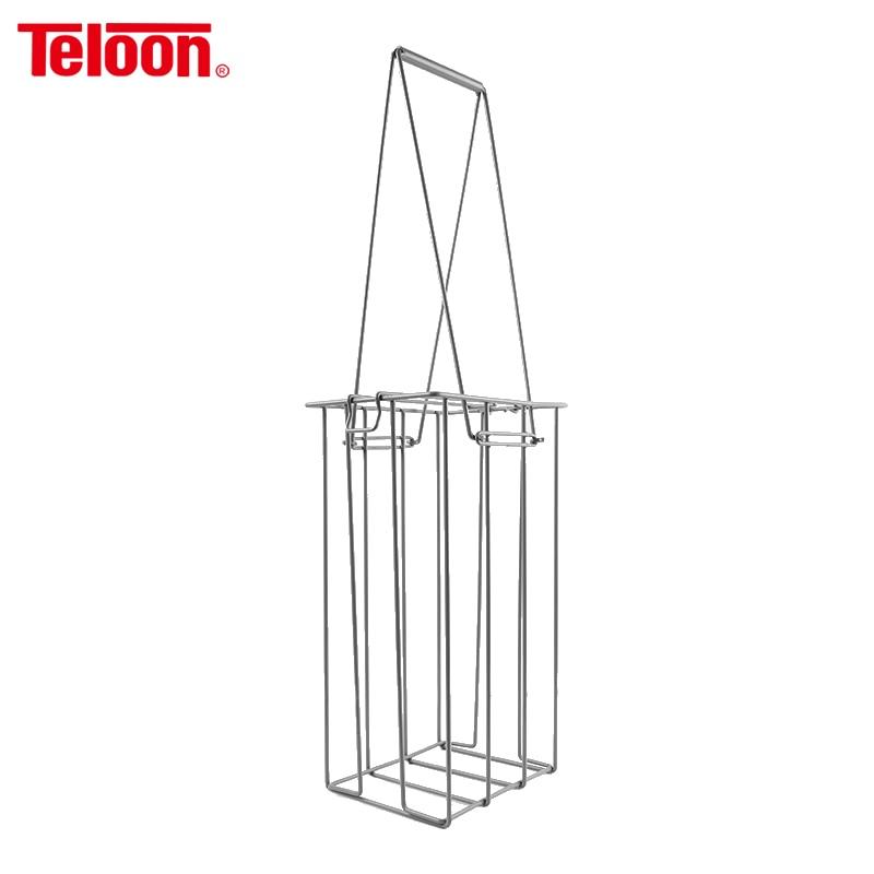 Teloon Tennis Ball Collecting Frame Metal Tenis Frames Ball Pick UP Basket 50 Pieces Capacity K009SPB