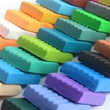 Мягкая глина для слайма «сделай сам» 24 цвета набор глины моделирования