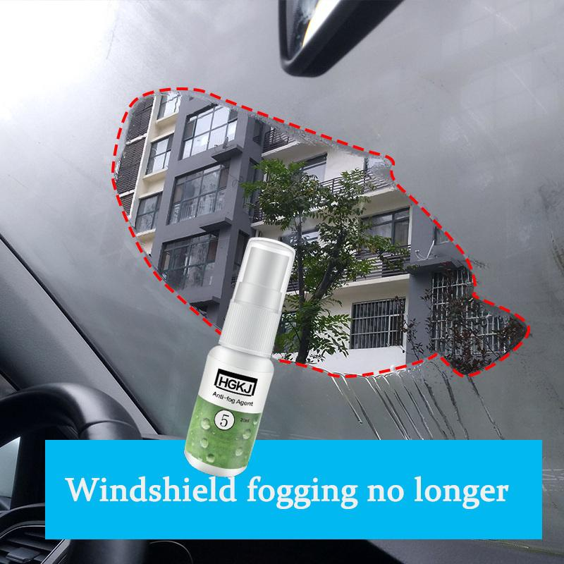 HGKJ Anti Fog Spray Agent For Glass, Automobile Front Window, Mirrors, Helmet, Goggles