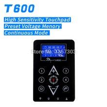 Новая татуировка питания ЖК Сенсорная панель 4 предустановленное напряжение таймер с функцией памяти функция T-600