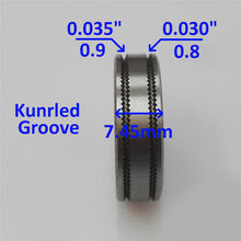 Durable Mig Welder Wire Feed Drive Roller Roll Parts 0.8-0.9 Kunrled-Groove 030 Inch 035 Inches High Quality Material