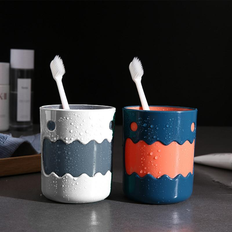 Nordic Style Toothbrush Cup Cartoon Animals Pattern Wash Tooth Mug Durable Big Mouth Couples Cups Bathroom Supplies Washing
