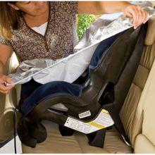 Car Baby Seat Sun Shade Protector for Children Kid Aluminium Film Seat Sun Visor