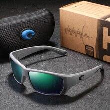 Polarized Sunglasses Men Brand Design Driving Fishing Square Glasses For Mirror Tuna Alley