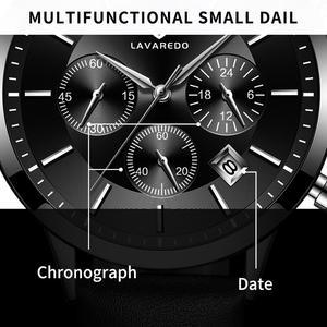 Image 4 - LAVAREDO Top Merk Luxe Heren Horloges Mannelijke Klokken Datum Klok Lederen Band Quartz Business Mannen Horloge Gift A7