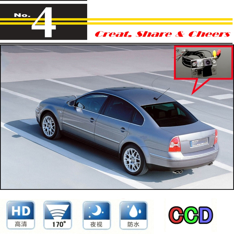 For Volkswagen VW Passat B5 / Magotan Car Camera High Quality Rear View Back Up Camera For PAL / NTSC | CCD + RCA