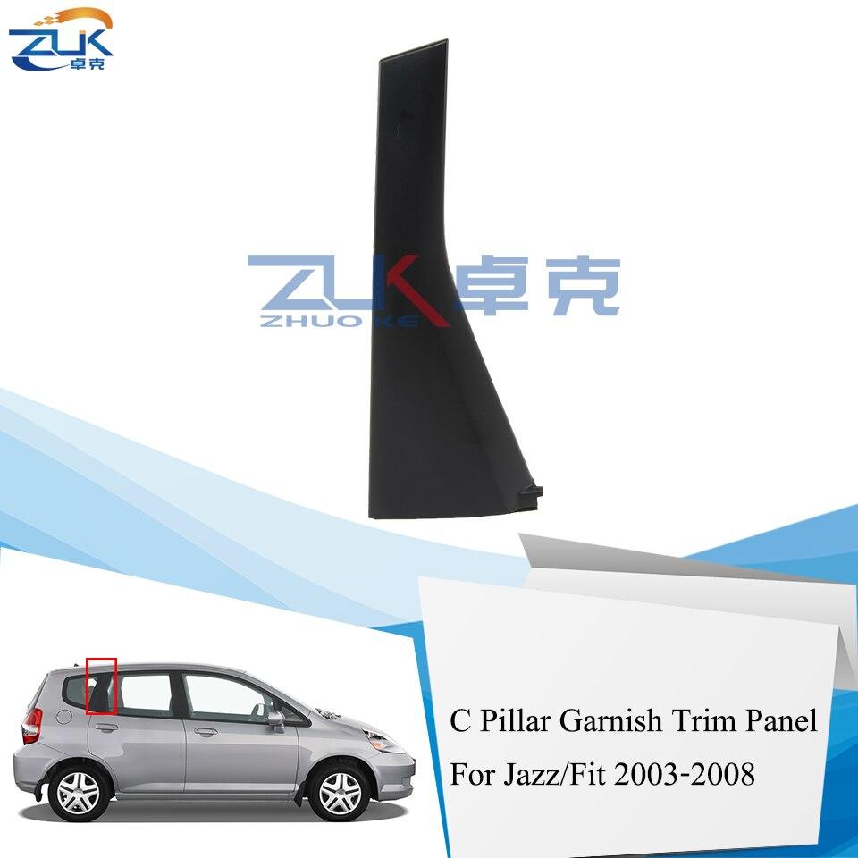 Fits Mazda MPV 06 Chrome Mirror B-Pillar Door Pillar Covers Post Accessories