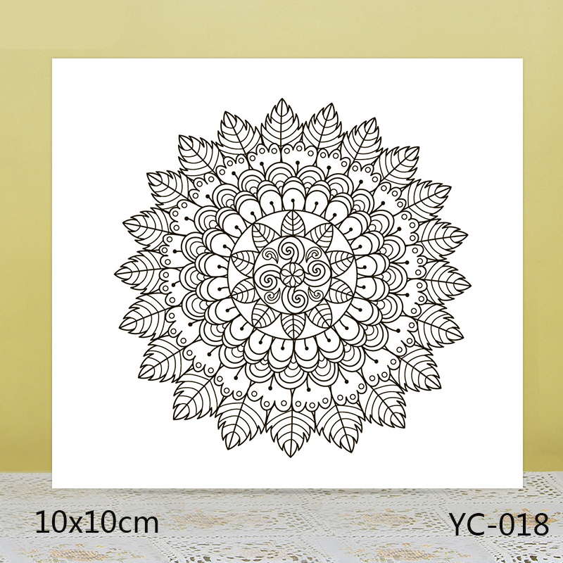 ZhuoAng Beautiful texture Transparent seal / sealed DIY scrapbook album decoration card seamless