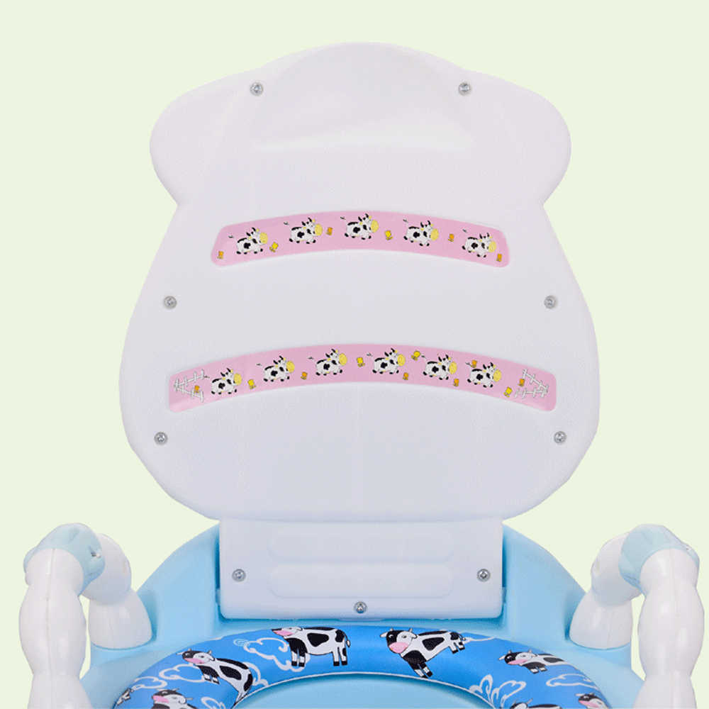 Nocniczek z siedziskiem przenośny wielofunkcyjny podróży krzesło garnki dla dzieci pisuar szkolenia śliczne bezpieczeństwa nocnik dzieci pisuar poduszki toaleta