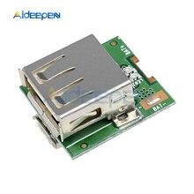 5 в 1А повышающий преобразователь 3,7 в литиевая батарея 18650 Зарядное устройство USB Li-Po батарея Защитная плата усилитель
