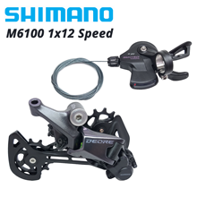 12S Groupset M6100-Shift-Lever SGS Rear Derailleur Deore M6100 M7100 12-Speed SHIMANO