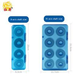 Mengxin nowy linka wędkarska okno główne linia box 16 osi sprzęt wędkarski box żyłka zestaw box cewki podwójna warstwa szpuli wędkarstwo dostaw