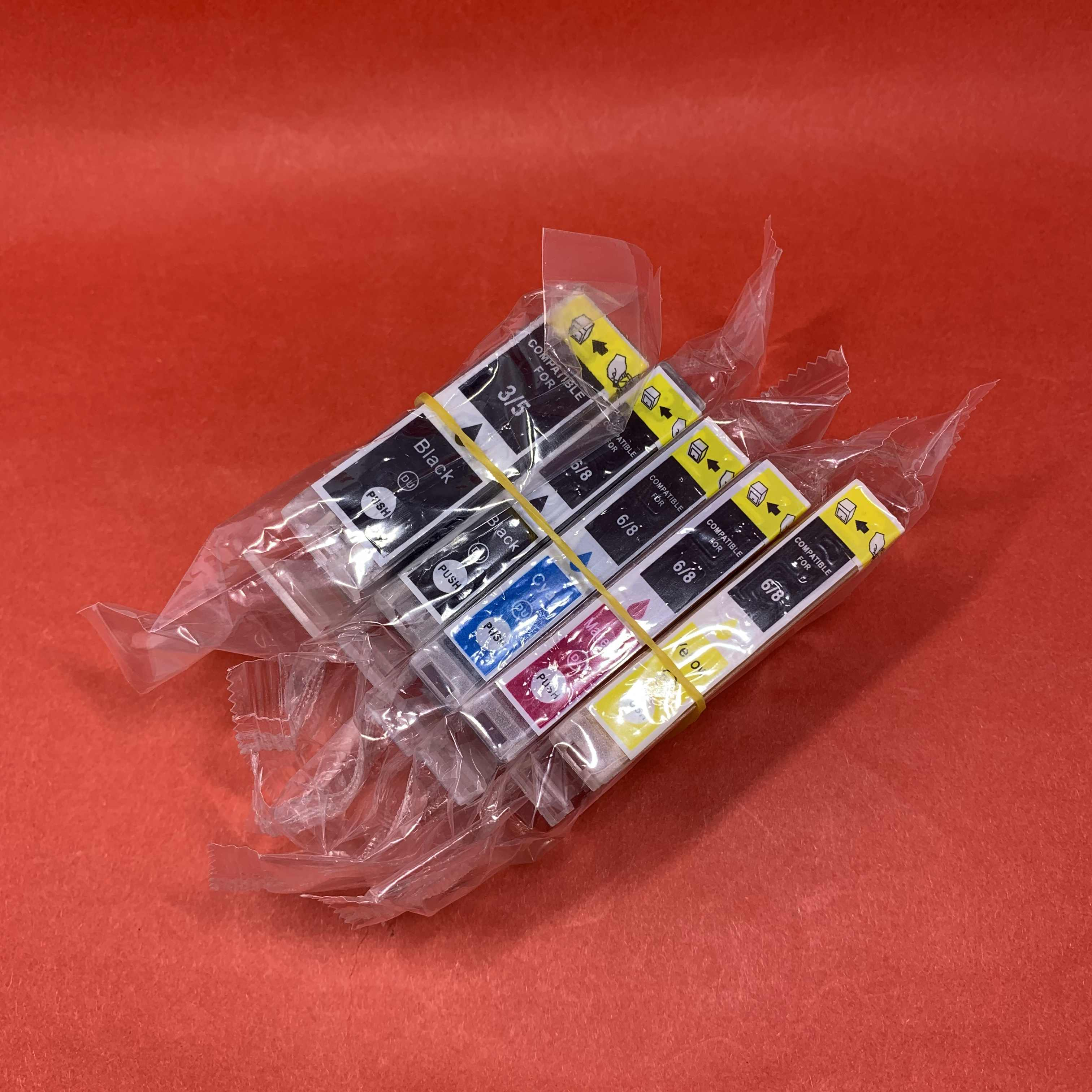 Yotat Compaible PGI5 Ink Cartridge PGI-5 CLI-8 untuk Canon PIXMA IP3300/IP3500/IP4200/IP4200 RFB/IP4300 /IP4500/IP5200/IP5200R