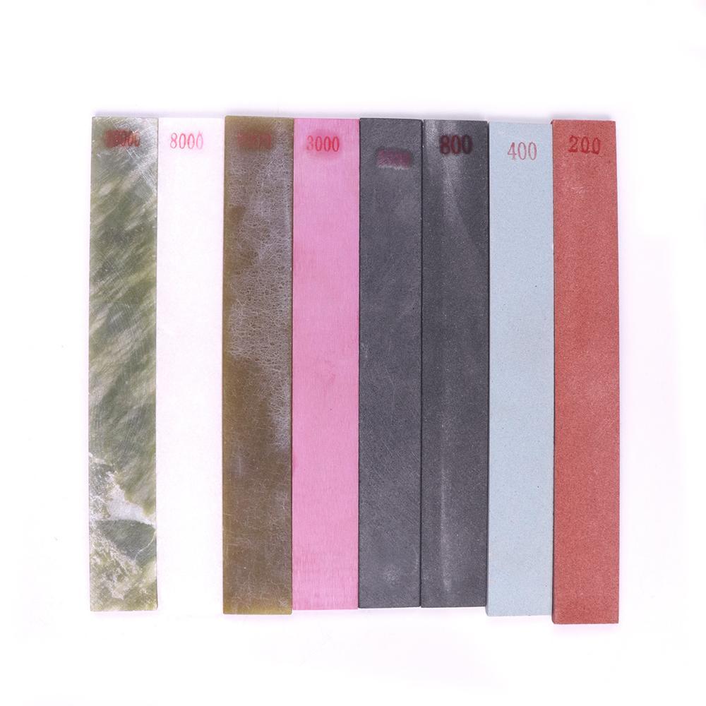 Super Grit Knife Sharpener Fine Stone Polishing Whetstone Oil Stone 200/400/800/1500/3000/6000/8000/10000#