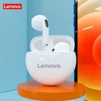 Lenovo HT38 TWS auricolari Bluetooth Mini auricolari Wireless con microfono per iPhone Xiaomi Sport cuffie impermeabili 9D Stere
