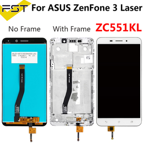 5.5''For ASUS ZenFone 3 Laser ZC551KL LCD Display With frame Touch Screen Digitizer Panel Assembly ZenFone ZC551KL Z01BD LCD