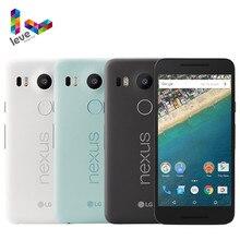 Oryginalny odblokowany LG Nexus 5X H790 H791 telefon komórkowy 5.2