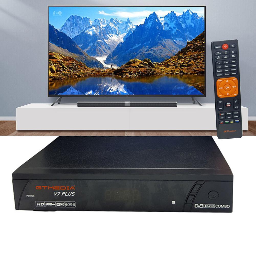 Décodeur numérique intelligent récepteur de télévision par Satellite 1080P Full HD TV Freesat V7 S2/T2 décodeur Tuner récepteur de Signal de télévision prise ue