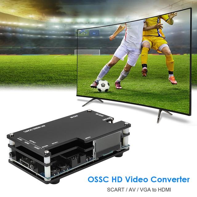 OSSC Retro Game Console HDMI-Compatible Converter Kit for PlayStation 2 1 Xbox Sega Atari Game Console Open Source Scan Converte 6
