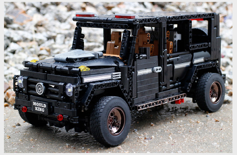 MOULD KING MOC 20100 Compatible 13070 Technic  Benz SUV G500 AWD Wagon Offroad Vehicle Building Block 20