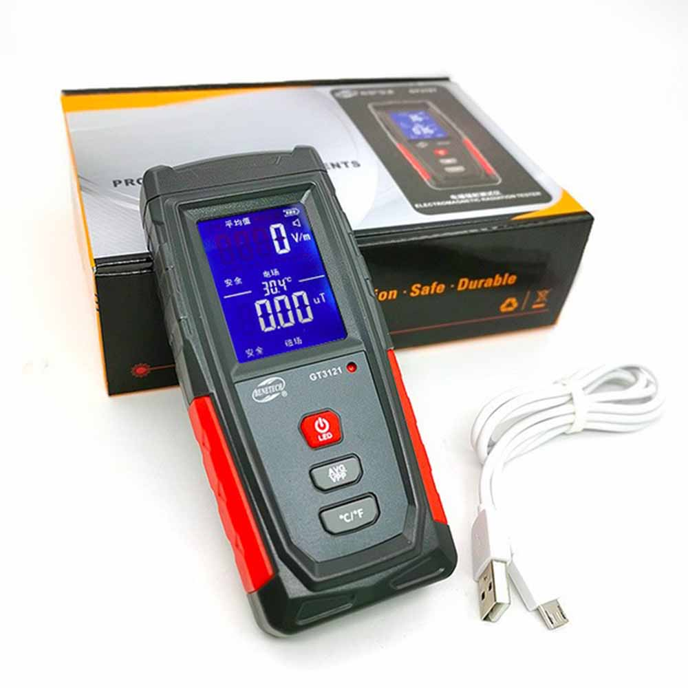 EMF RADIATION METER EMF RADIOFREQUENCY ELECTROMAGNETIC FIELD TESTER 4G 5G WIFI