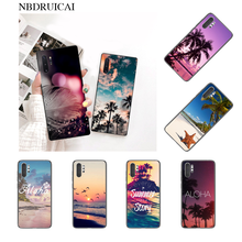 Summer Beach Hawaii Aloha Sea Ocean Newly Arrived Phone Case for Samsung Note 3 4 5 7 8 9 10 pro A7 2018 A10 A40 A50 A70 J7 2018(China)