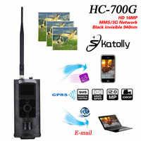 ¡Skatolly HC-700G Full HD 16MP 1080P Cámara sendero caza HC700G Noche de Video visión 3G MMS GPRS exploración juego + envío gratis!