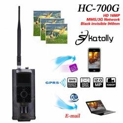 Skatolly HC-700G Full HD 16MP 1080P Hunting Trail กล้อง HC700G วิดีโอ Night Vision 3G MMS GPRS Scouting เกมจัดส่งฟรี!