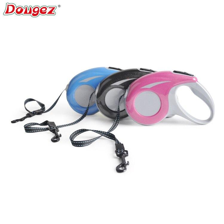 Dougez5 M Retractable Pet Rope Dog Tractor Wear-Resistant Traction Belt Pet Supplies