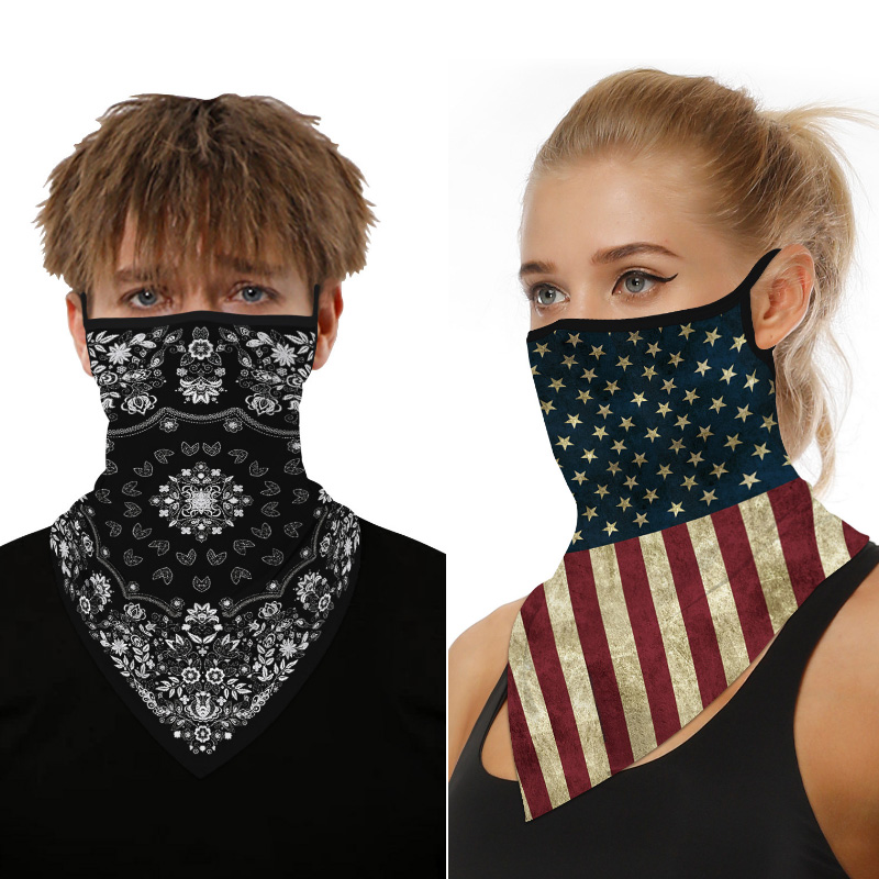 2020 Brand Face Mask Scarf Women Men Magic Print Bandana Outdoor Cycling Unisex Neck Luxury Mouth Scarves