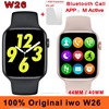 40MM 44MM Original Iwo W26 Smart Watch Dial Bluetooth Call IP68 Waterproof Body Temperature ECG Heart Rate Monitor Smartwatch